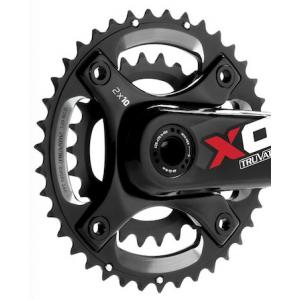 Kit Plateaux + Etoile SRAM TRUVATIV X0 Spider GXP 28/42 dents 80/120BCD