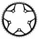 Plateau SPECIALITE TA SOLANO 110 mm SC Campagnolo 48/50 dents Extérieur 9/10v. Noir -40%