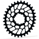 Plateau ABSOLUTE BLACK OVAL 34t pour Sram BB30 ou Superboost / Style XX1 / Offset 0mm