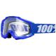 Masque 100% ACCURI Goggle Reflex Blue - Clear Lens -40%
