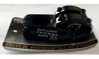 Potence Bmx FLUIDE Cypress 49/53/57mm Noir -50%