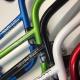 "Guidon bmx BLACKLABEL SlimFast 8.25"" Bleu,Blanc ou Rouge -50%"
