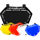 Plaque bmx MAIKUN 3D Pro -40% Bleu Rouge Jaune