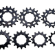 "Pignon EXCESS Steel Cogs 3/32""  12/13/14/15/16/17 Dents (BMX Race)"