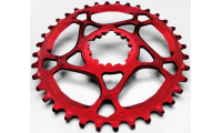 Plateau ABSOLUTE BLACK Sram GXP 28/30/32/34/36T  / Offset 6mm / Narrow Wide / Rouge