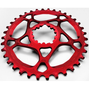Plateau ABSOLUTE BLACK Sram GXP xx1 / Boost -3mm / Narrow Wide / Rouge