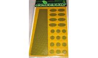 KIT de 21 Stickers de Protection ALIENSKIN Carbon Kevlar