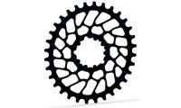 Plateau ABSOLUTE BLACK OVAL 32t pour Sram BB30 ou Superboost / Style XX1 / Offset 0mm