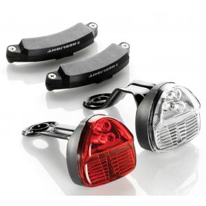 Kit Eclairage Magnétique Av+Ar REELIGHT SL120 FLASH BACKUP Compact