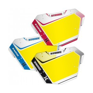 MCS Number Plate Mini Taille pour BMX Vélo De Course Rouge Gris ou Bleu Couleur Choix