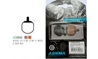 Plaquettes ASHIMA AD0502-SM Semi Metal HAYES GX2 MX2 MX3 SOLE